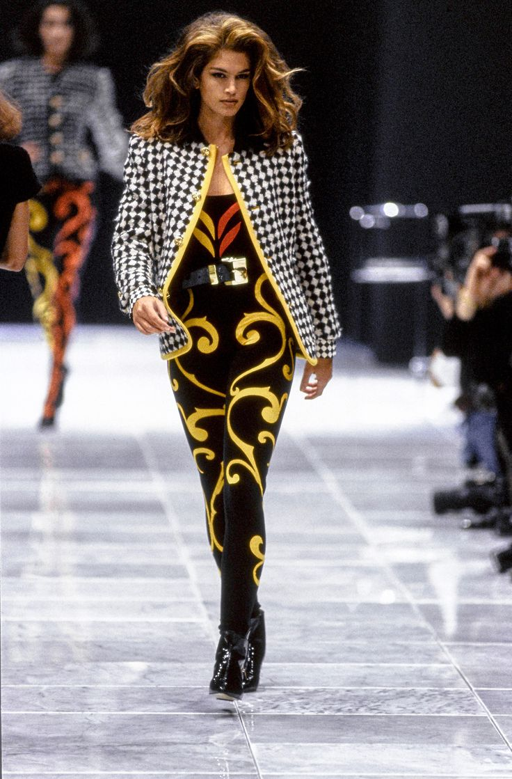 49 best images about cindy crawford - Best runway shows ...