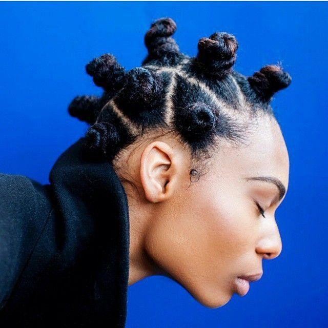 bantu knot styles