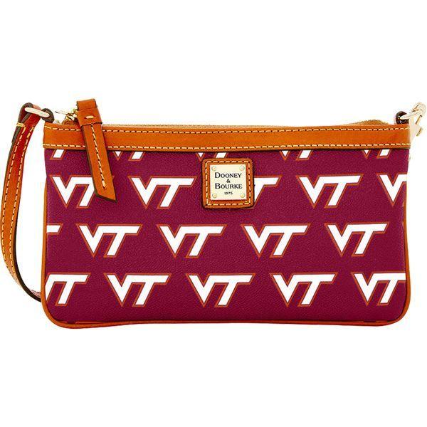 Virginia Tech Hokies Dooney & Bourke Women's Wristlet - Maroon - $88.00