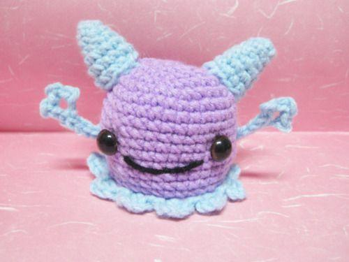 Amigurumi Monster Pattern Free Crochet : Best crochet monsters images crochet dolls