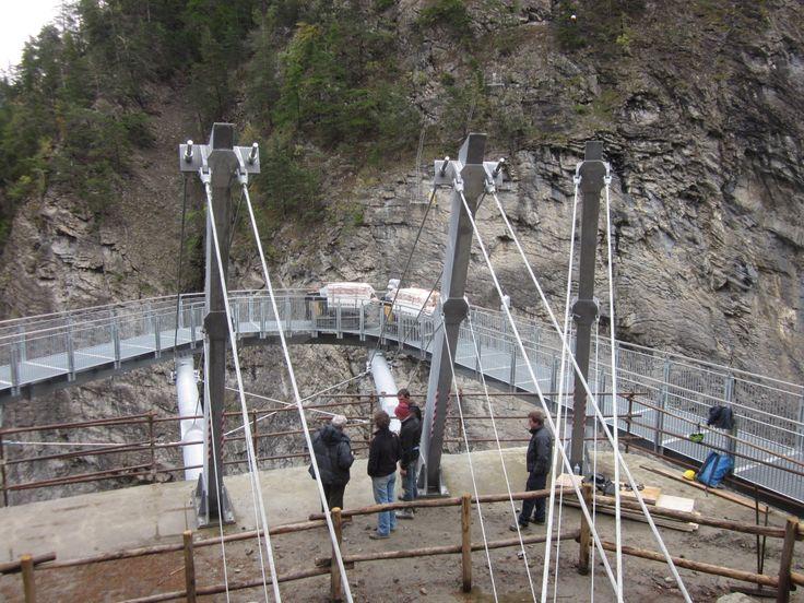DUMPER PL10 radiocomandato al collaudo della passerella sulle cascate dell'Orrido a #presaintdidier #aostavalleyPinoperval