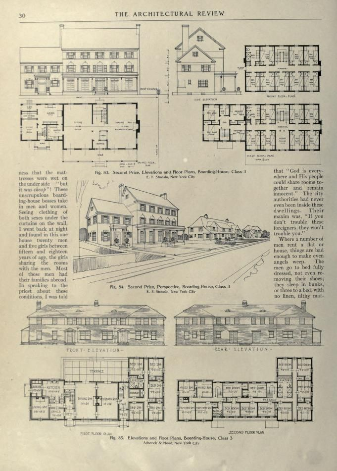 Architectural Review Free Download Borrow And Streaming Internet Archive Architecture Floor Plan Drawing Building Plans