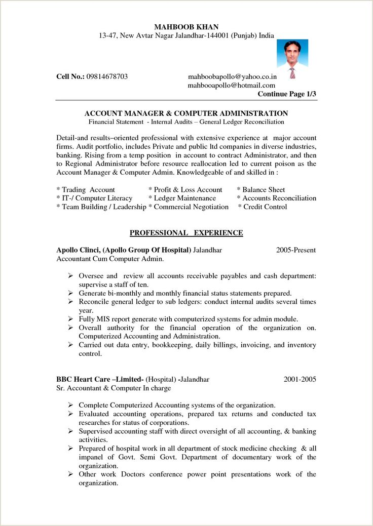 Mca Fresher Cv Format Free Download In 2020 Profit And Loss Statement Accountant Resume Resume Format In Word