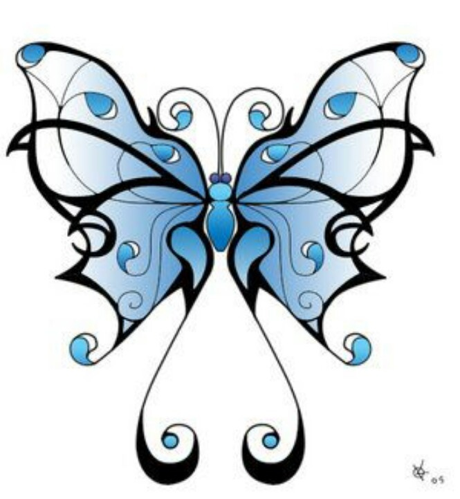 Pretty ButterflyTatoo idea