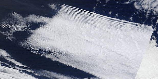 Imágenes satelitales de la NASA prueban que nuestro clima es 100% manipulado.