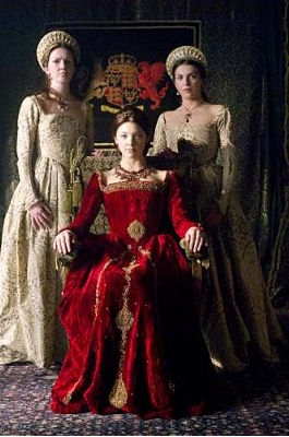 Anne Boleyn (middle) in TV series The Tudors.  The Tudor period usually refers to the time between 1485 and 1603, specifically in relation to the history of England and Wales. This coincides with the rule of the Tudor dynasty in England whose first monarch was Henry VII (1457-1509).  http://en.wikipedia.org/wiki/Tudor_period