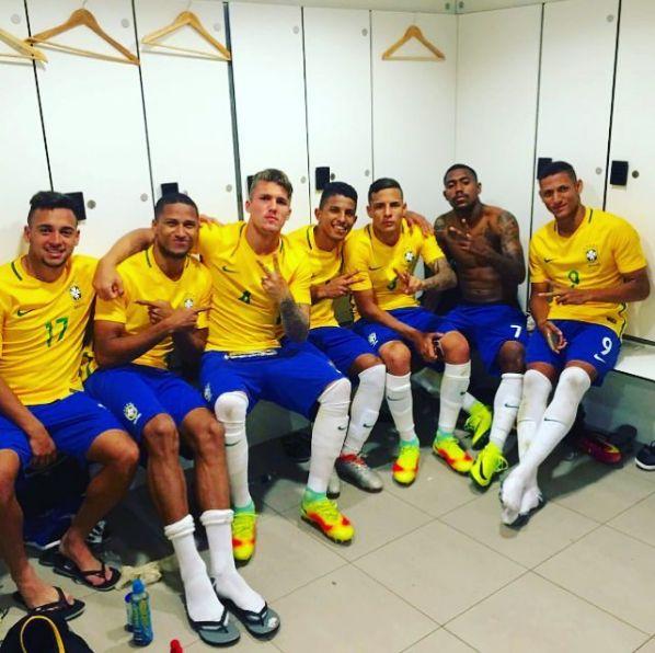 Em rede social, Richarlison comemora estreia com gol pela seleção sub-20