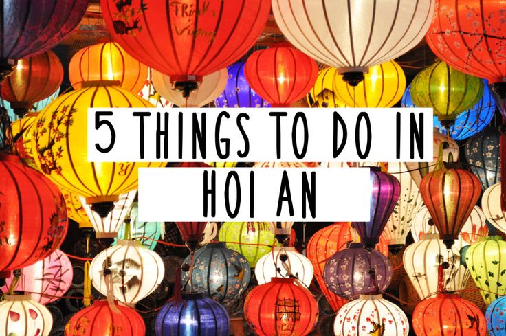 Laura Todd | 5 things to do in Hoi An
