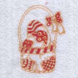Easter Egg Basket Embroidery Design | AnnTheGran