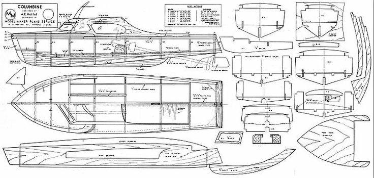 23 best Vintage Model Power Boats images on Pinterest