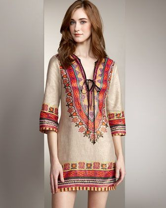 Tunic Dresses: a collection of ideas to try about Women's fashion ...