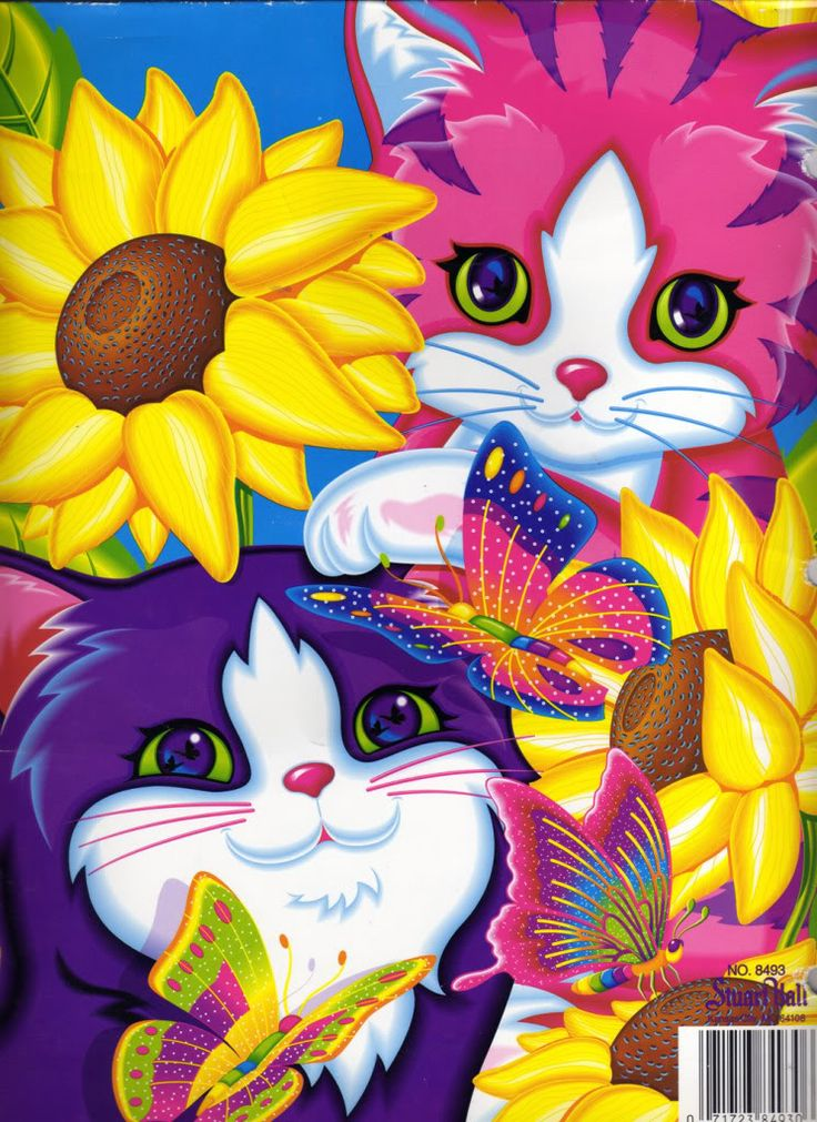 """Nothing screams """"child of the nineties"""" quite as loudly as Lisa Frank school supplies. I SO had this exact folder :)"""