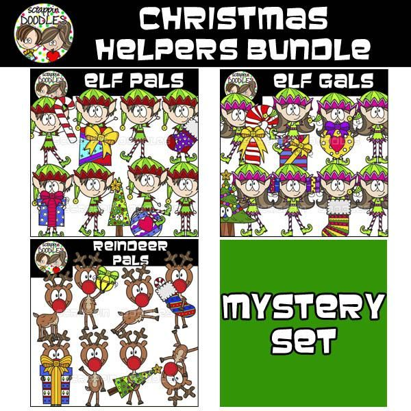 Christmas Helpers Bundle {$18 Value} – Scrappin Doodles