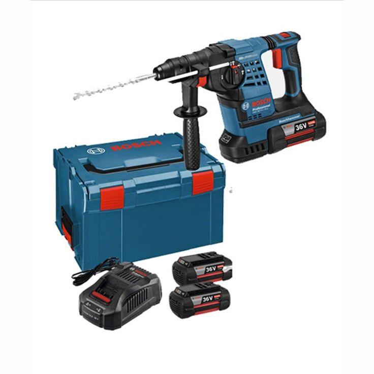 Bosch GBH36V-LI Plus 4.0Ah Professional Cordless 36v SDS Hammer Drill Full Set #BOSCH #GBH36V-LI Plus #Cordless #36v #SDS #Hammer #Drill #FullSet