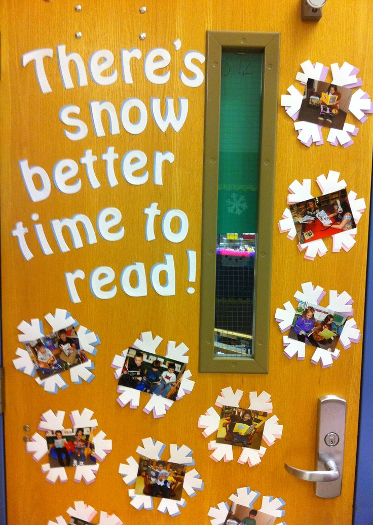 "There's snow better time to read!  I would change it to ""There's snow better time to come to Sunday school""."