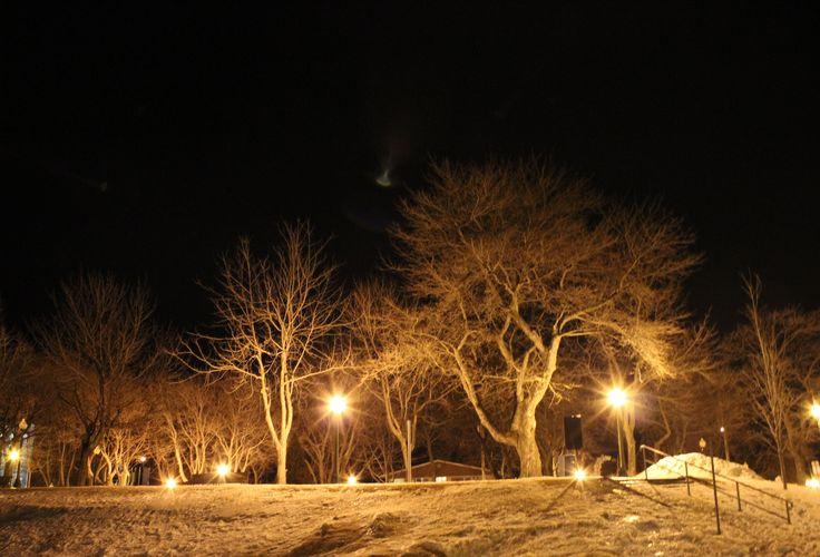 Rivière-du-Loup - Parc Blais - 15 mars 2015