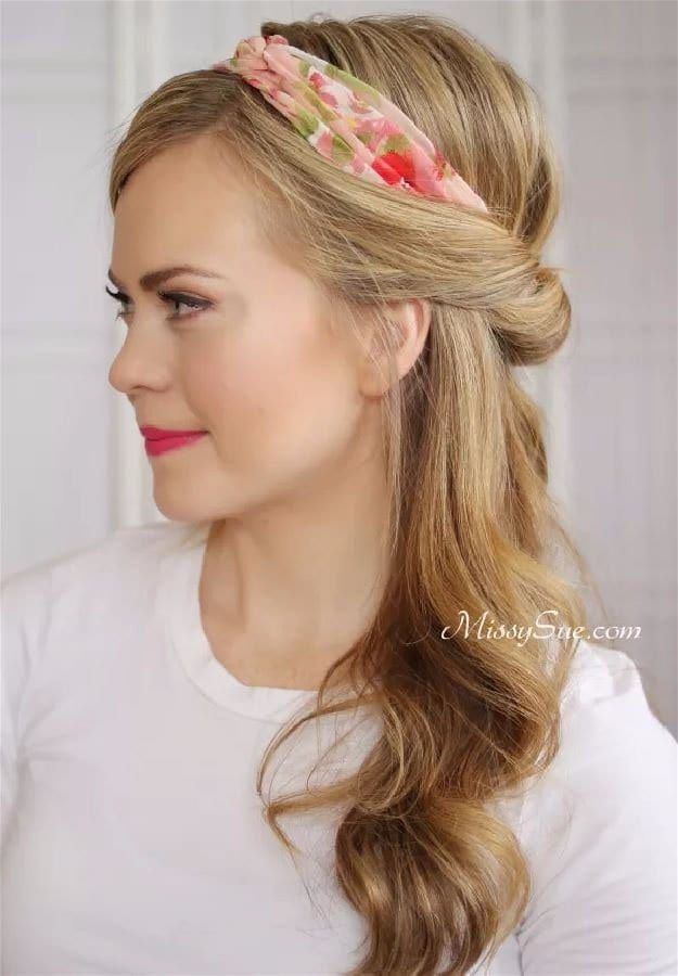Easy Hairstyles For Work Short Hair : 2265 best diy hairstyles images on pinterest