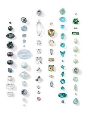 Swarovski Crystal Spring Summer 2015 and 2016 Jewelry and Color Trends Progressive ~The Nature of Strength
