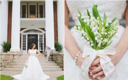 Bouquet da sposa con mughetti - Bouquet piccola da sposa