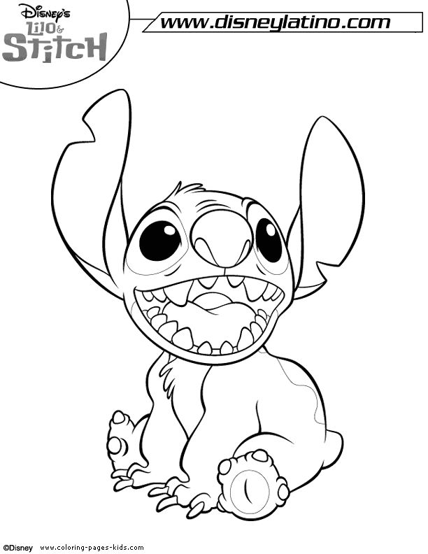 7 best Stitch images on Pinterest | Coloring books, Coloring pages ...
