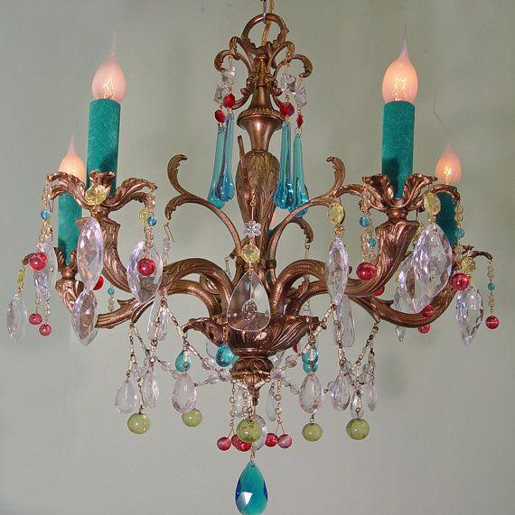 Sooooo Sweet 5 Light Vintage Bronze By SharonsChandeliers On Etsy 80000 ChandelierEtsy VintageInterior DecoratingVaselineDining