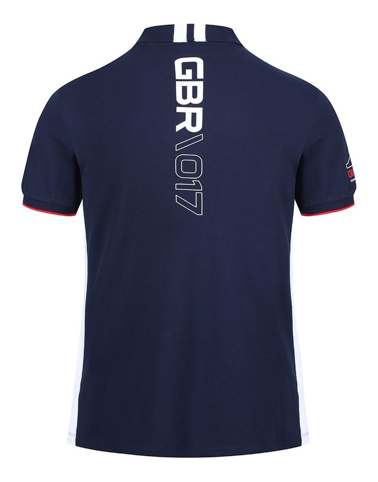 Hackett Men's Aston Martin Racing GB Polo Shirt – Navy