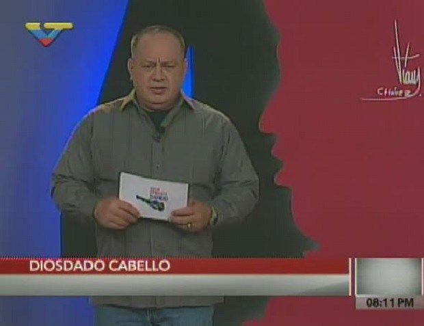 """Diosdado Cabello: """"Ramos Allup tu vas para afuera y Leopoldo López seguirá preso"""""""