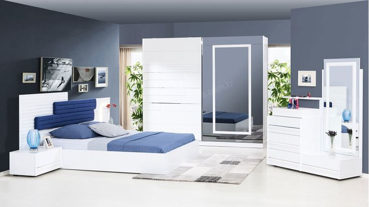 Soft Beyaz Modern Yatak Odası Takımı