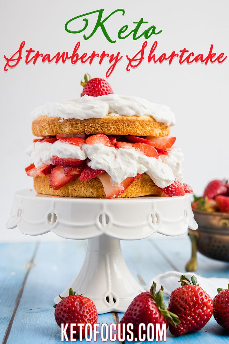 Everyone will love this old fashioned summertime classic keto dessert! This keto strawberry shortcake recipe starts with…