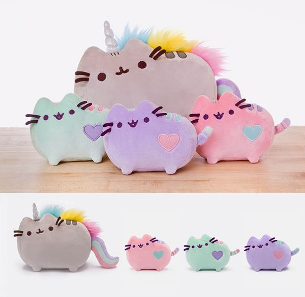 "Pusheen the Cat on Twitter: ""Pusheenicorn & Pastel Pusheen plush toys are…"