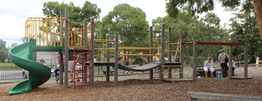 Eltham Lower Park, Main Road, Eltham Facilities: playground, BBQ, toilets, seats, tables, shelter, water and sports ovals