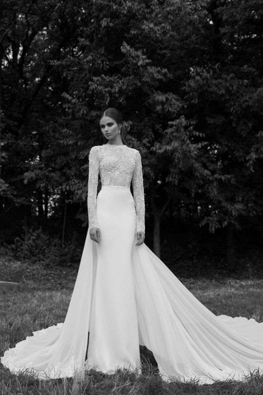 Cute Hey future brides here is another amazing bridal collection It is Berta Bridal Winter a wonderful collection of long sleeve wedding dresses