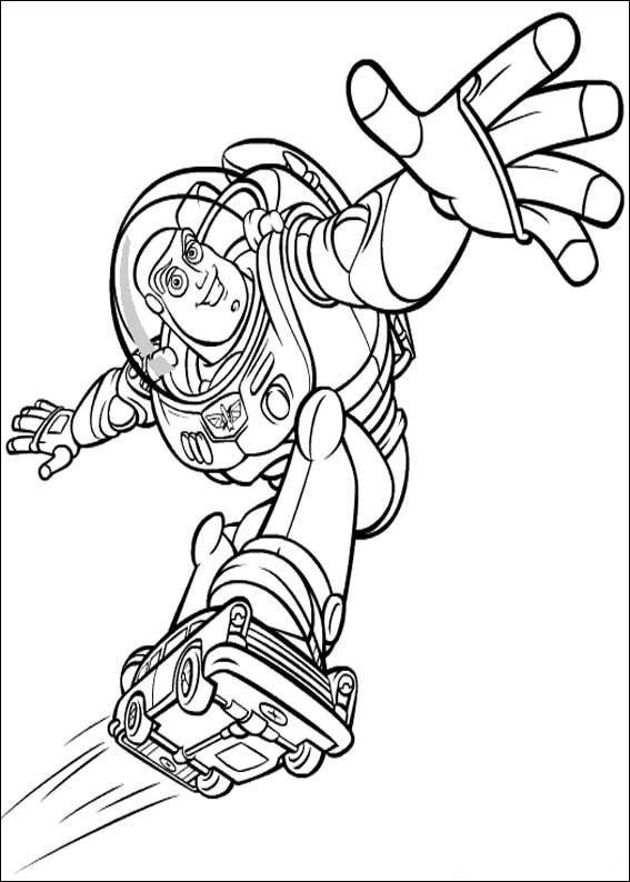 toy story coloring book pages toy story 2 - Toy Story Coloring Book