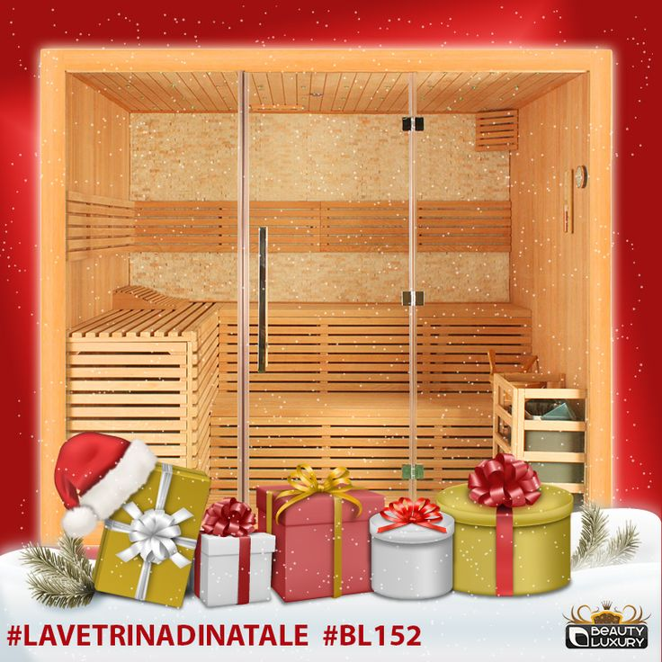 Even more heat to your Christmas!  Finnish Sauna BL-152 Beauty Luxury with 30% discount until December 24, 2014! #LaVetrinadiNatale # BL152 http://www.beauty-luxury.com/en/finnish-sauna-bl152-p-319.html
