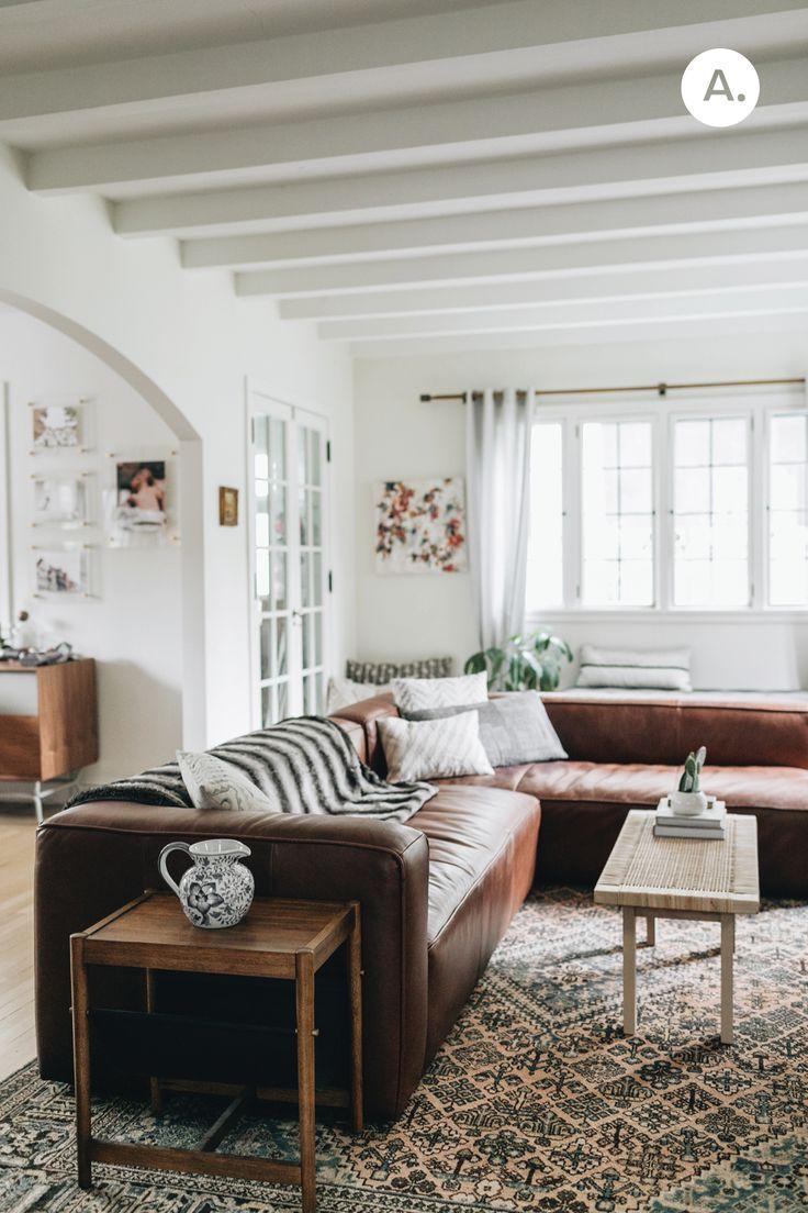 Luxury House Ceramic Floor Tiles Design Neat Fast Brown Living Room Family Room Design Living Decor