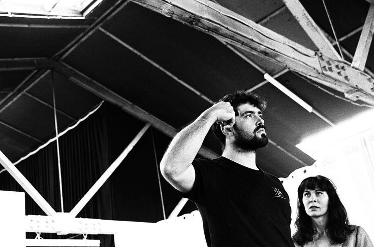Cowboy Mouth rehearsal shoot Amos Phillips - Lobsterman Leah Baulch - Cavale
