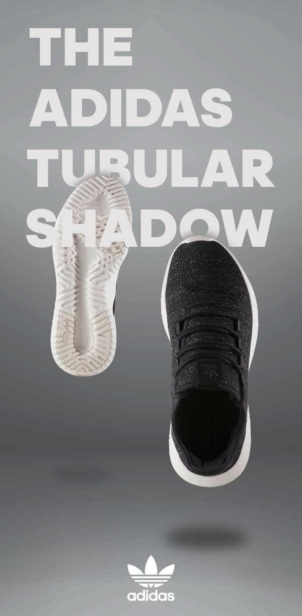 "Enjoy stylish simplicity in the adidas Tubular Shadow Casual Shoes. With a super light and breathable knit upper, ""burrito"" tongue for a snug fit and rope laces, these shoes show a new take on streetwear style."