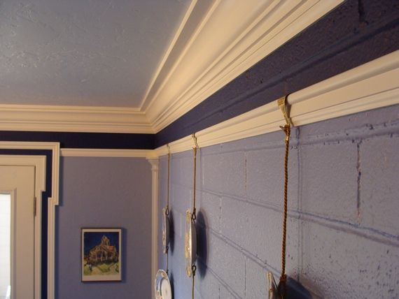 how to install diy picture rail molding