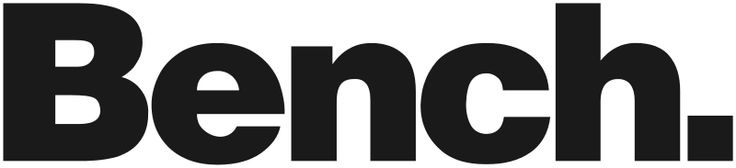Bench, clothing brand using heavy-weight Helvetica