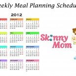 January Food Calendar: 23 Skinny Meals Planned For You!