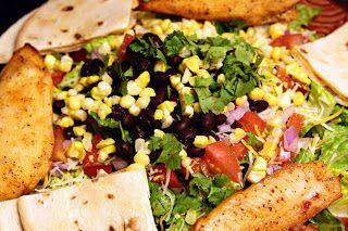 Chili's Quesadilla Explosion Salad copycat recipe