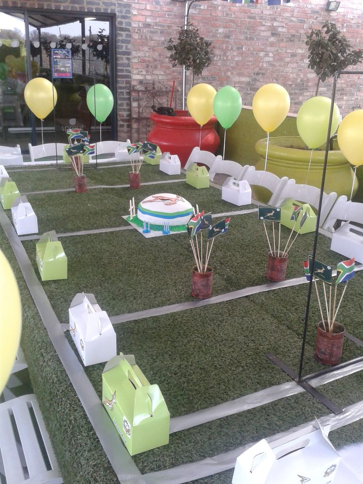 Kick off! Springbok Rugby Party