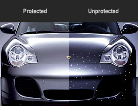 "This great article features the testimony of 3 aftermarket companies who describe the benefits of 3M Paint Protection Films.    -- ""3M paint protection film protects vehicles from road hazards such as bug acids and stone chips on impact area.""    -- ""The best bet is to have a professional, experienced installer apply the film."" http://www.speedfilm.net/images/3m1.pdf"