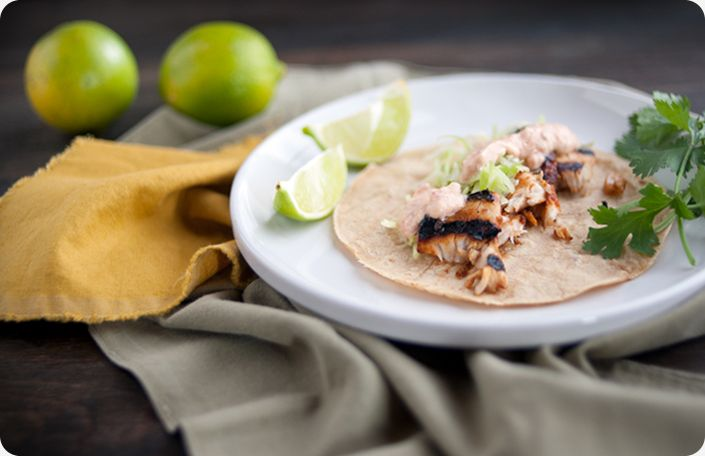 17 best images about it 39 s din din time main dish recipes for Fish taco aioli