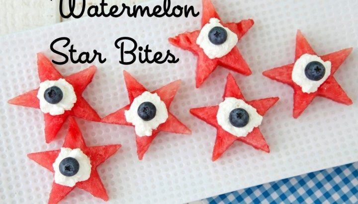 Watermelon Star Bites