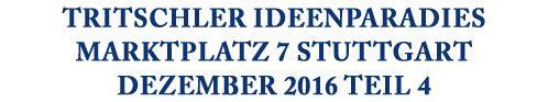 """17.12. """"Stuttgart-City leuchtet""""-Lange Einkaufsnacht; Bis 23 Uhr einkaufen 19.12.-21.12. #Rösle Küchenhelfer """"Alles für die Küche, 3. Stock"""" 19.12.-23.12. #Le Creuset Gusskochgeschirr Fachberatung mit Küchenchef Rainer Paul """"Alles für die Küche, 3. Stock"""" 27.12. #LauraStar Bügelstationen Vorführung """"Alles für die Küche, 3. Stock"""" 27.12.-29.12. #Spring #Raclette-Vorführung """"Alles für die Küche, 3. Stock"""""""