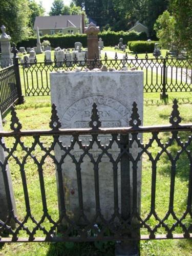 Emily Dickinson  West Cemetery  Amherst, Massachusetts