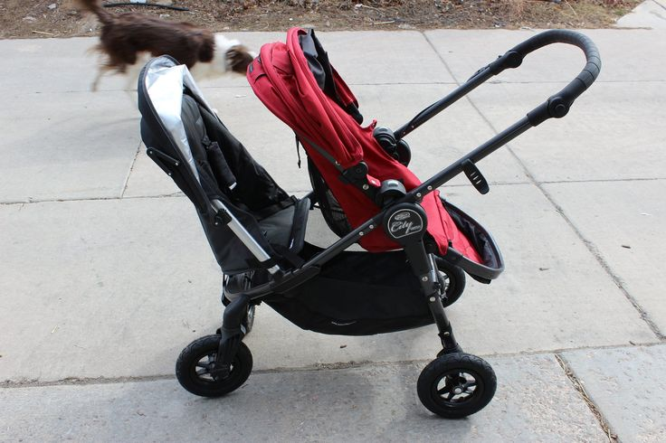 Turn your baby jogger versa into a double with the uppababy rumble seat! Clips right on to the frame. How cool!