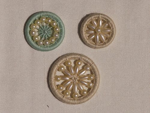 Dorset Buttons - Beaded