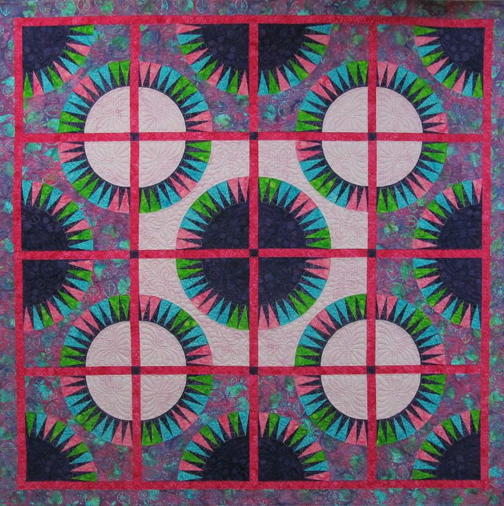 Wasatch Digital Quilting Designs : Black Beauty quilt done by Ginette Schew of Quilt Me Studio. Digitized quilting designs done by ...